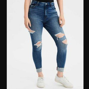 American Eagle Curvy Super High-Waisted Jegging